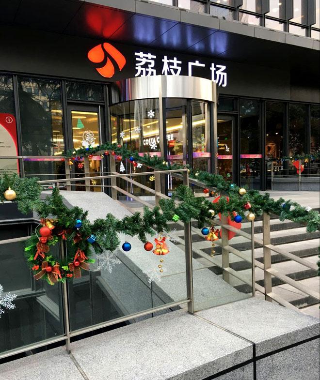 商业街区包装 导视系统 商业橱窗包装 街区氛围图片