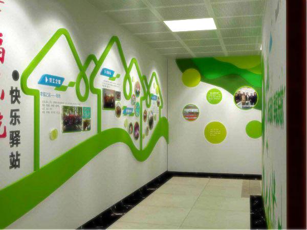 在现代办公室装饰中,企业文化墙占据着非常重要的一部分.